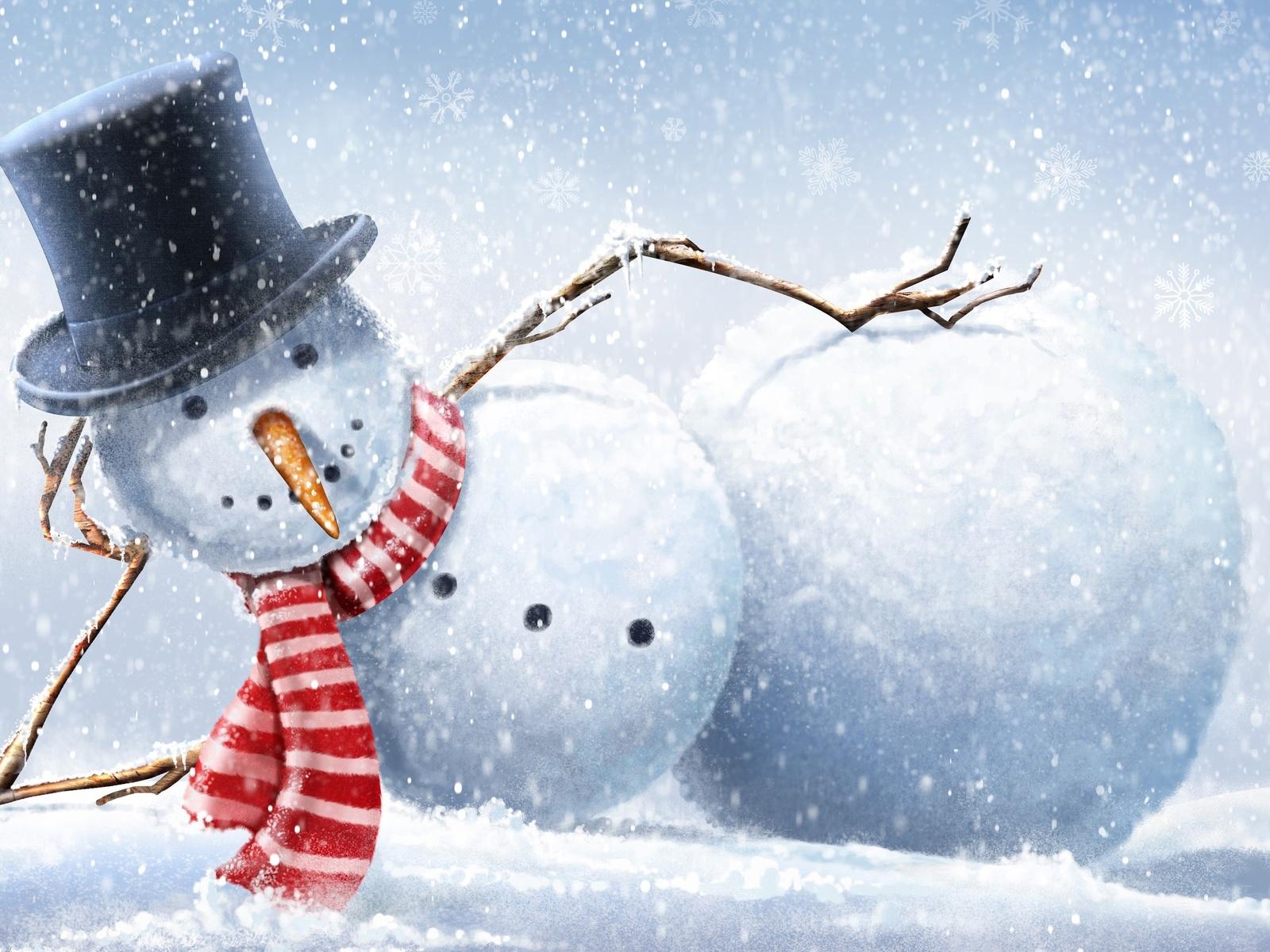 Bienvenidos al nuevo foro de apoyo a Noe #302 / 22.12.15 ~ 27.12.15 - Página 7 Fotos-de-mu%25C3%25B1eco-de-nieve-con-sombrero