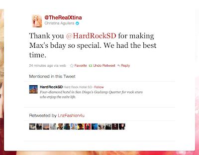 [Fotos] Christina Aguilera y Matt en Hard Rock Hotel en San Diego, CA Picture%2B2