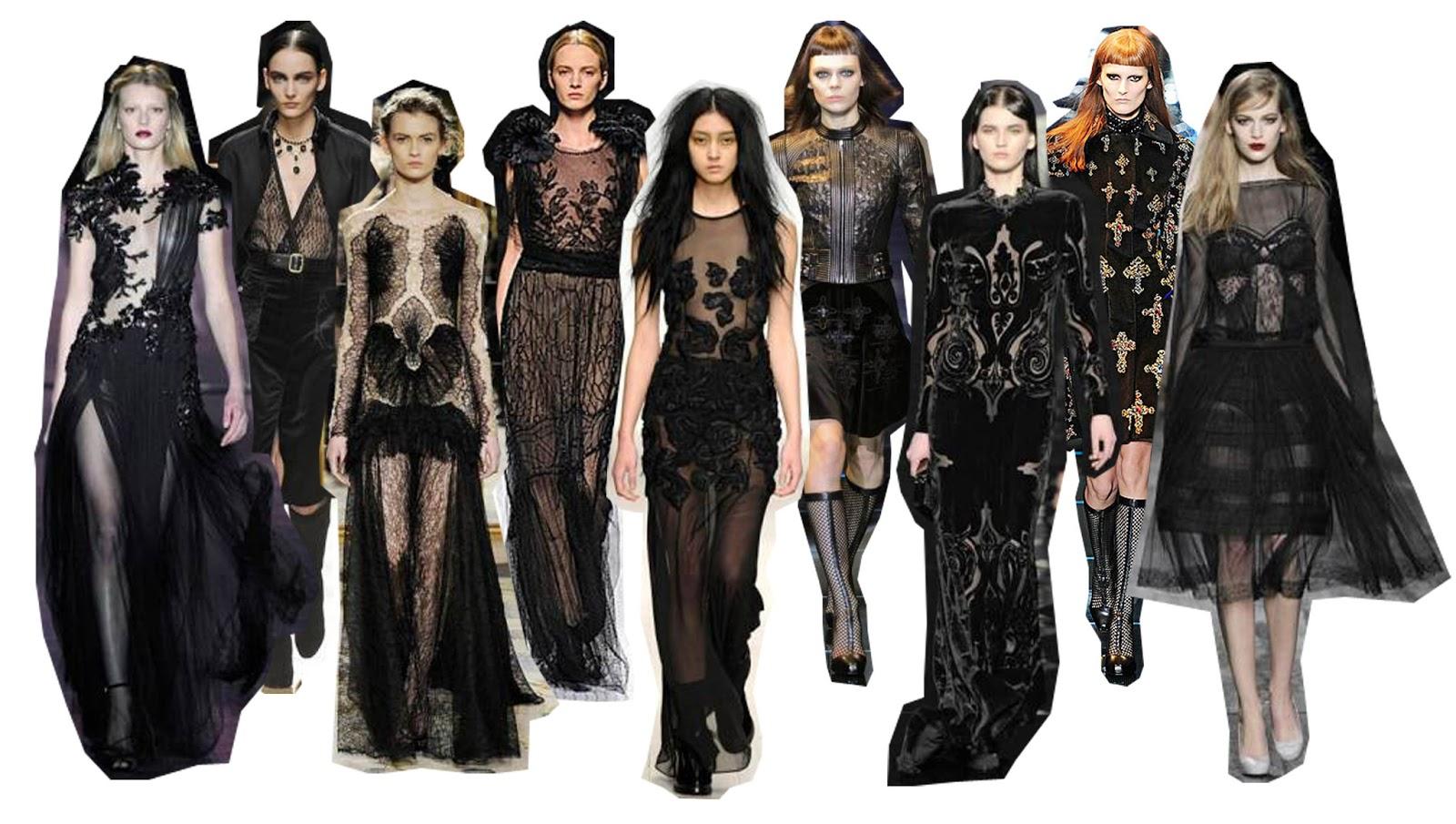 Modne revije Dark-gothic-fashion-2012