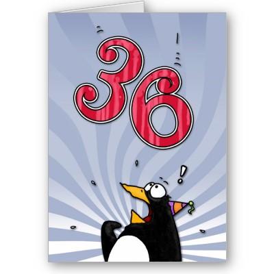 LUNES 29 JUNIO DE 2015 - Por favor pasen sus datos, pálpitos y comentarios de quiniela AQUÍ para hacerlo más ágil. Gracias.♣ 36th_birthday_penguin_surprise_card-p137936190164553819tdtq_400