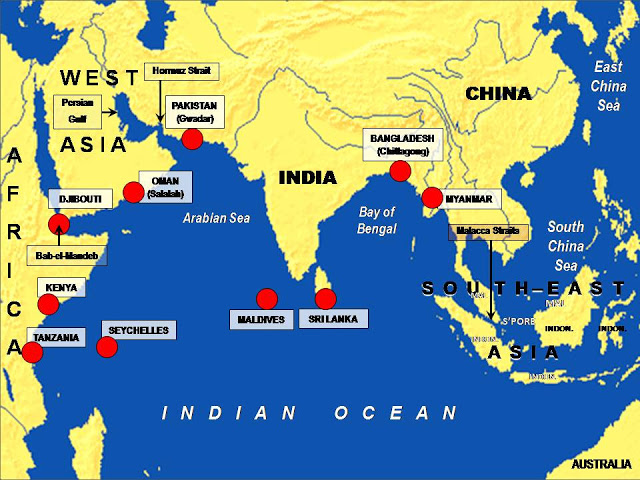 2015...ماذا حدث للبحرية الصينية؟ Chinas%2BString%2Bof%2BPearls%2BIndo%2BOcean