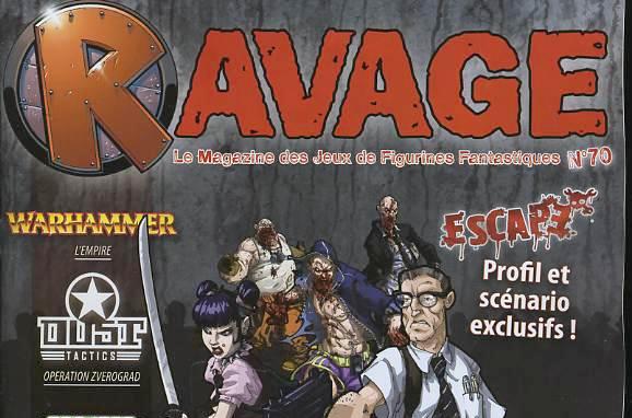 ravage nueva revista pronto en español Zombie-parade-couv-ravage-70-une