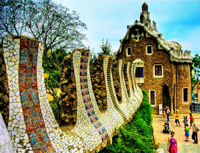Najpoznatije svetske arhitekte Parc_Guell_Barcelona