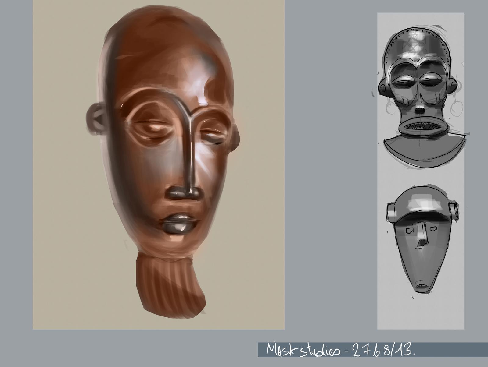 Gallerie de Dream - - Page 2 Study_masque