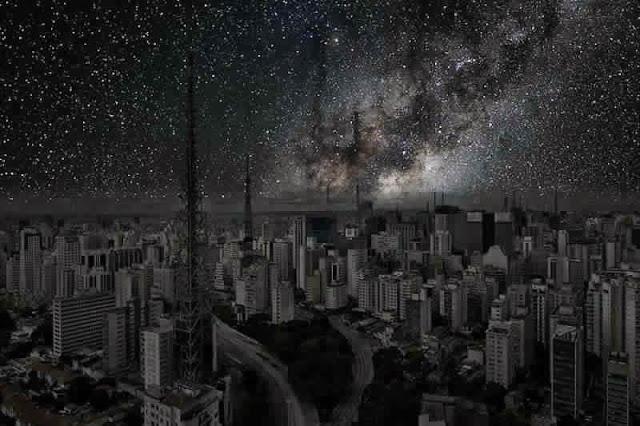 كيف ستبدوا المدن الكبرى لو خيم عليها الظــلآم الدامـس ..؟! Sao%2BPaulo1