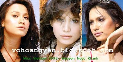 Miss Vietnam Overview MissVn1998