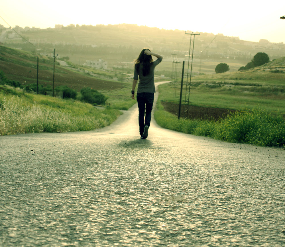 EXPRESS YOURSELF Walking_alone_by_mashat