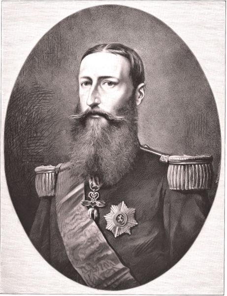 King Leopold II (1835-1909) and Queen Marie-Henriette (1836-1902) 461px-Leopold_II_gravure