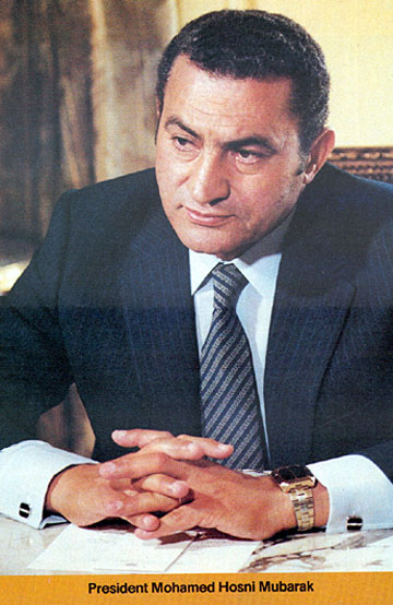 PRESIDENT MUBARAK - Into the hands of Egypt's last dictator! Mubarak1