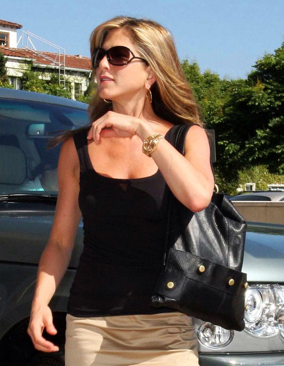 Les goodies qui vous épatent le plus Jennifer-Aniston-Rolex-President-Day-Date