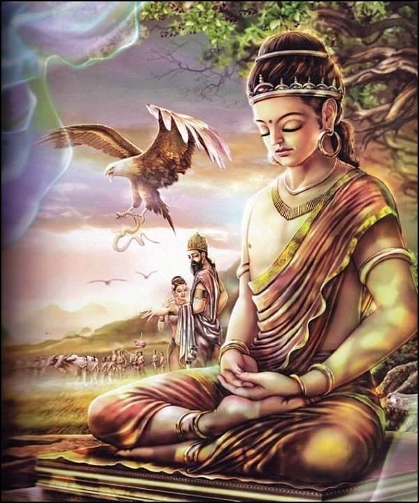 புத்தரின் வாழ்க்கை வரலாறு, படங்களுடன்... 5