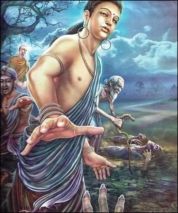 புத்தரின் வாழ்க்கை வரலாறு, படங்களுடன்... 9