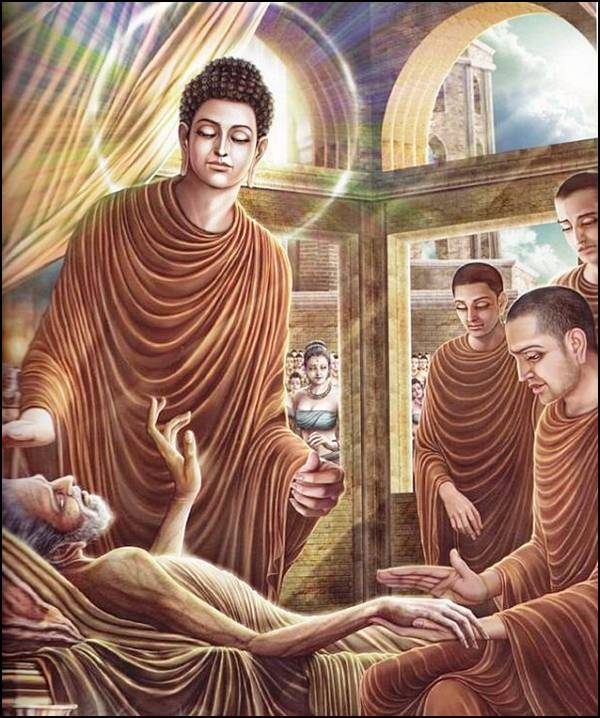 புத்தரின் வாழ்க்கை வரலாறு, படங்களுடன்... 24