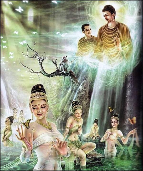 புத்தரின் வாழ்க்கை வரலாறு, படங்களுடன்... - Page 2 31