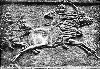 LAS CUATRO COLEGIATAS CANTABRAS Asurbanipal_Rey_de_Asiria
