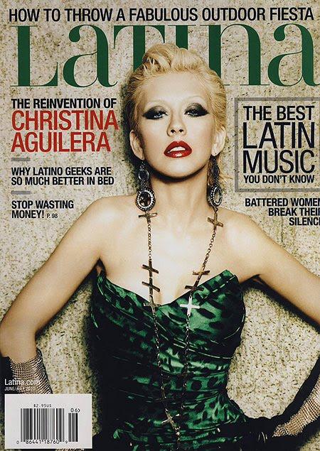 [OMG!] Scans Latina Magazine! LATINA