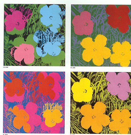 PopArt AndyWarhol_Flowers