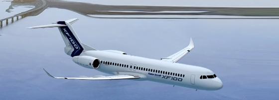 Fokker modernizará e voltará a fabricar o modelo Fokker 100  XF100ng