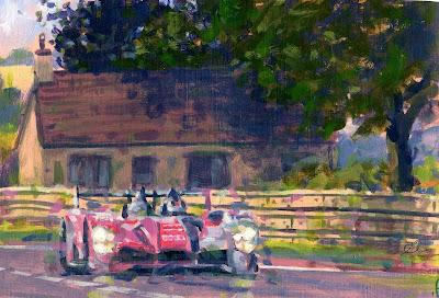 le sport auto  et l'art - Page 20 2010lemans222