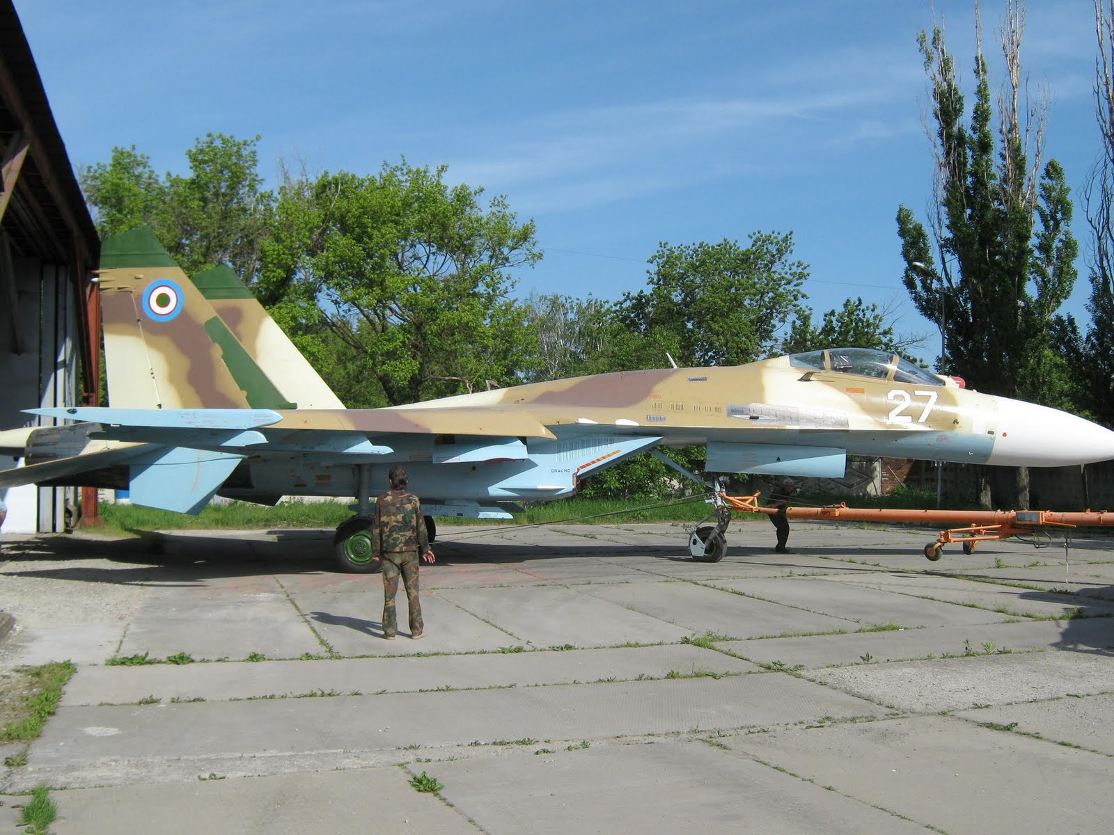 Armée Ouzbek / Uzbekistan's armed forces SU-27%2B27%2BUZBEKISTAN