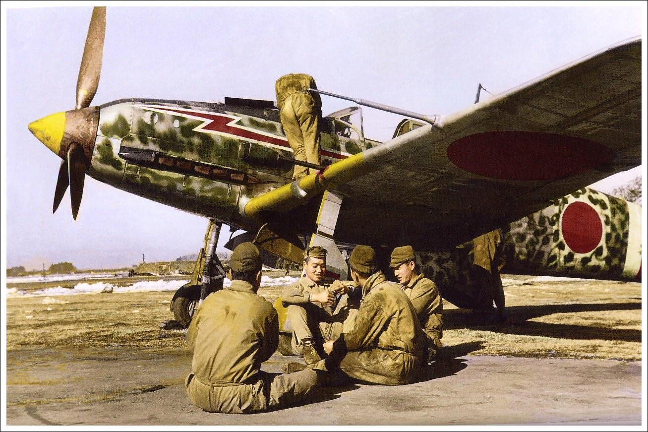 armée de l'air japonaise Kawasaki_ki-61_img2