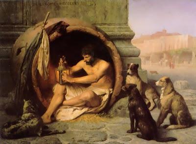 C'EST ARRIVE AUJOURD'HUI .......... il y a longtemps ! Gerome_-_Diogenes