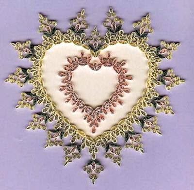 ***** Quilled-Victorian-Heart