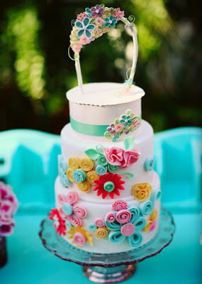 ***** Quilled-cake