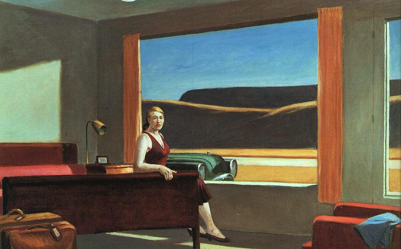Motivos modernos (Pintura, Fotografía cosas así) - Página 2 Edward%2BHopper%2B%2Bwestern_motel-large