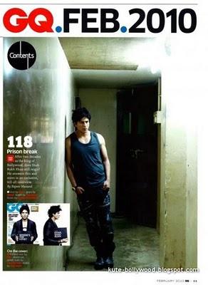 مجموعة صور لشارو خان Shahrukh Khan من مجلة GQ India 2010  2