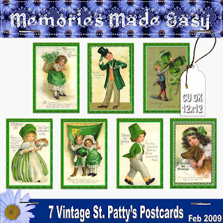 St Patty Day Kit W/Alpha MME_7VintageCards_PREVIEW