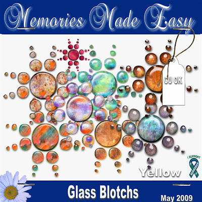 Glass Blotches (Memories Made Easy) MME_GlassBlotchs_PREVIEW