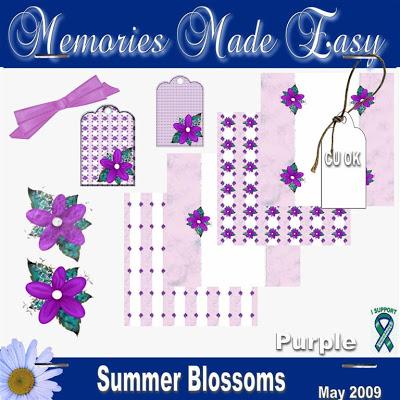 Summer Blossoms - Purple Mini Kit (CU OK) MME_SummerBlossomsPurple_PREVIEW