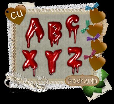 Bloody Alpha Set (Memories Made Easy) MME_BloogyAlpha_Preview