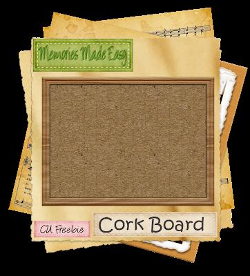 Cork Board (Memories Made Easy) MME_CorkBoard_Preview