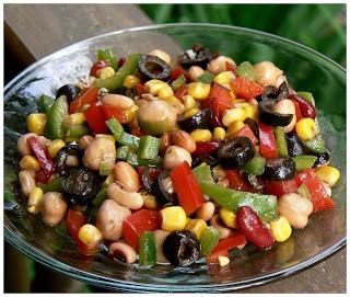 Salade mexicaine de légumineuse P1380653