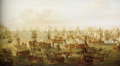 El navio de tres puentes en la Armada Trafalgar2