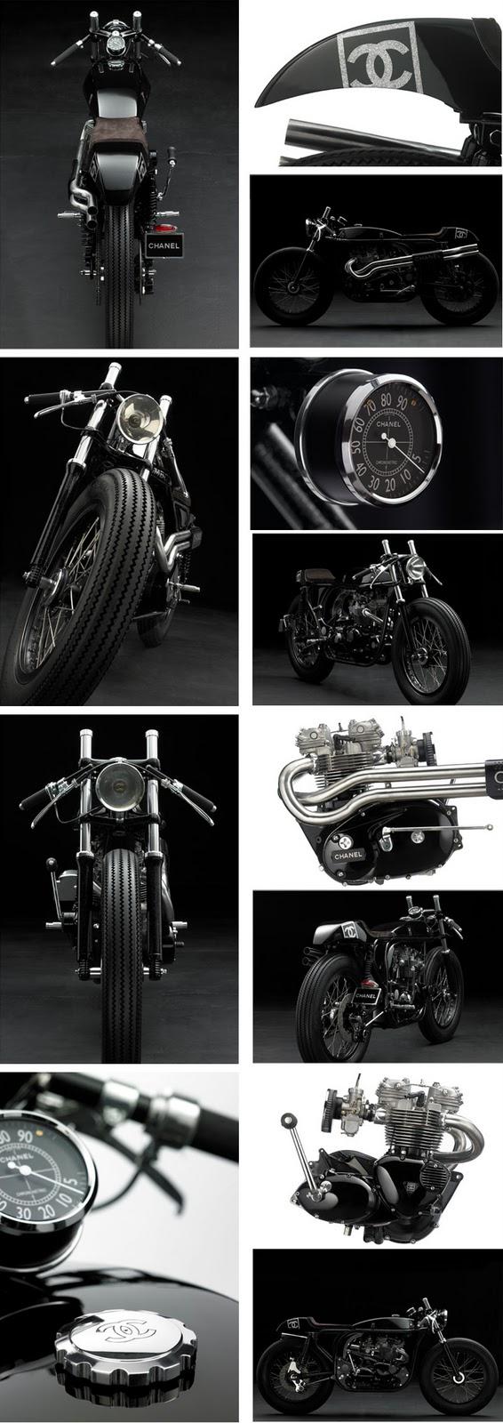 Triton by Daniel Delfour CHANEL-MOTORCYCLE