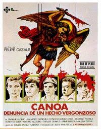 "[CINE] ""CANOA,  Felipe Cazals.1975"" Canoa_cartel"