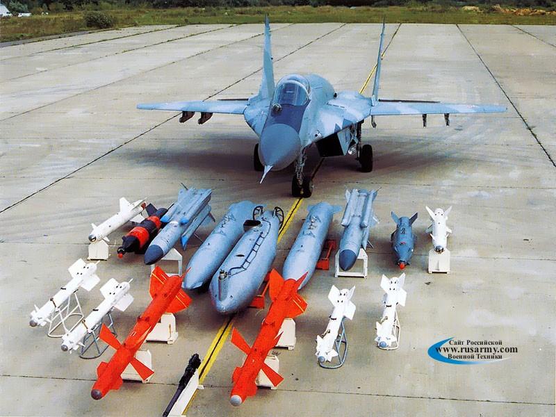 الأسلحة الحديثة لدى الجيش السوري Mig-29smt