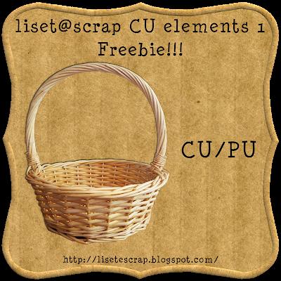 Freebie CU Basket from liset@scrap by Lisete Preview