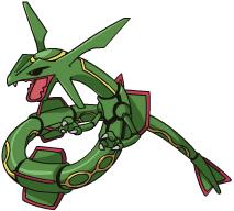 Vuestro pokemon favorito? Rayquaza