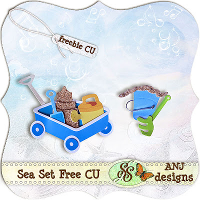 Sea Set Freebie Commercial Use ( ANJdesigns) ANJ_Free_SeaSet_CU_Prev_600