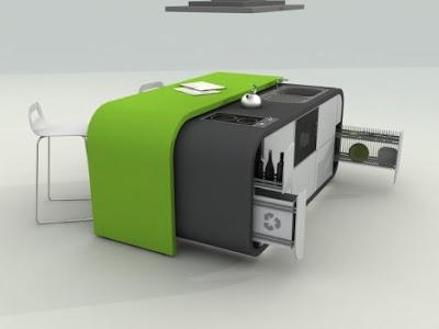 تنظيم المنزل Fevzi-karaman-modular-kitchen-design-open