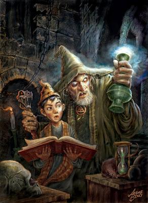 Выбор Учителя... Magia