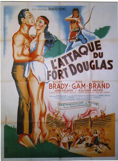 L'Attaque de Fort Douglas - Mohawk - 1956 - Kurt Neumann Topgun0002nl5