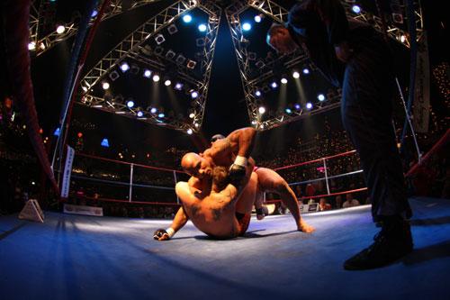 Señores Yoel Romero esta en el MMA Img_7755