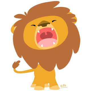 عاشق مجنون أنت  Cute_mighty_roaring_lion_cartoon_ph
