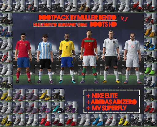 Pes 2010 - HD Bootpack Preview