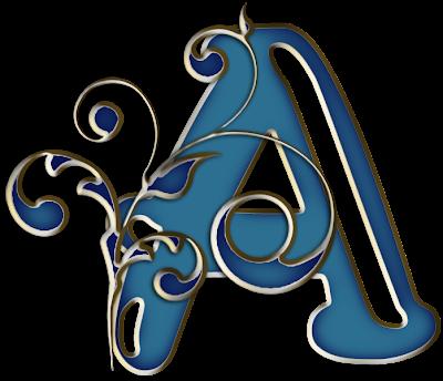 CU alphabet by Becky A